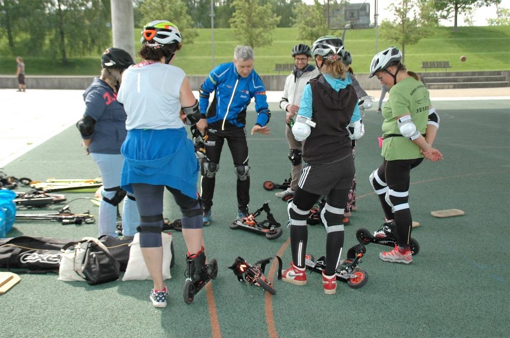 Einführungskurs Cross-Skating, skiken, Rollski 19.5.18