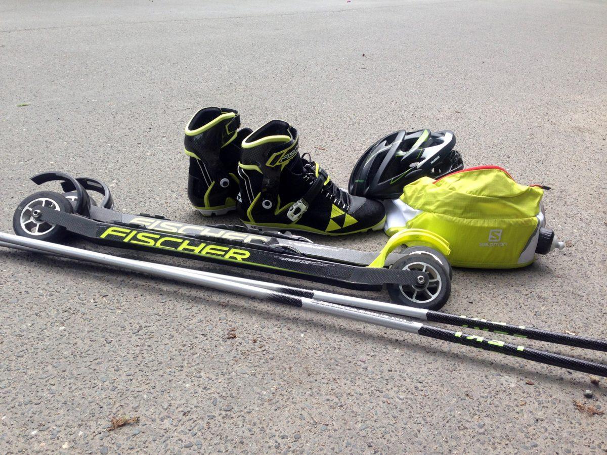 skirollertest Fischer Skiroller Leki nordisch aktiv 2018