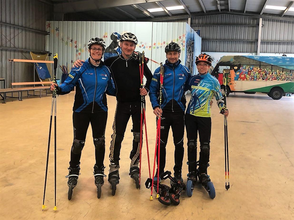 die Teilnehmer der Trainerausbildung zum skike- und DSV Nordic Blading Trainer am 24.06.2018