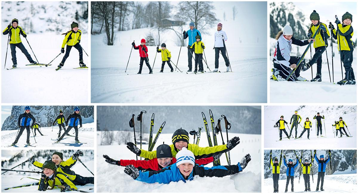 Nordisch aktiv Skilanglauf Kinder
