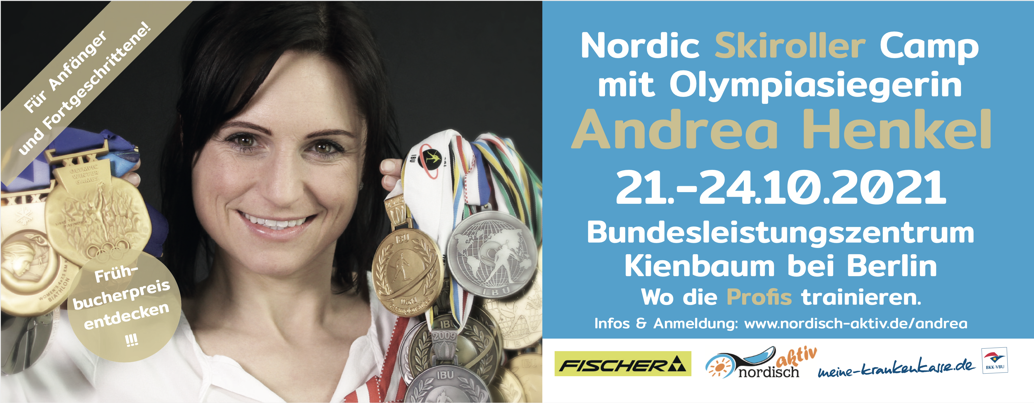 Andrea Henkel nordisch aktiv